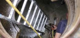 αποφράξεις αποχέτευσης στο Καπανδρίτι